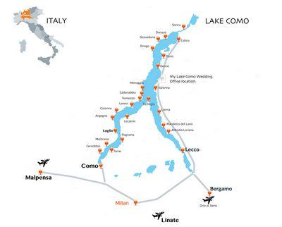 Italy Region Map.Italy Lake Region Maps Verona Tours 2017