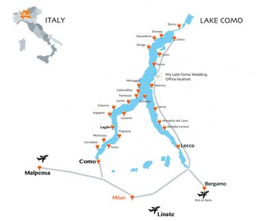 Italy Lake Region Maps – Verona Tours 2017